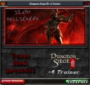 Читы Dungeon Siege III v1.0 Trainer + 6