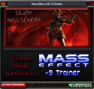 Читы Mass Effect v1.02 Trainer
