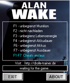 Alan Wake Trainer+6