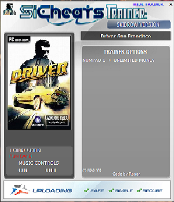 Screens Zimmer 7 angezeig: driver san francisco trainer pc